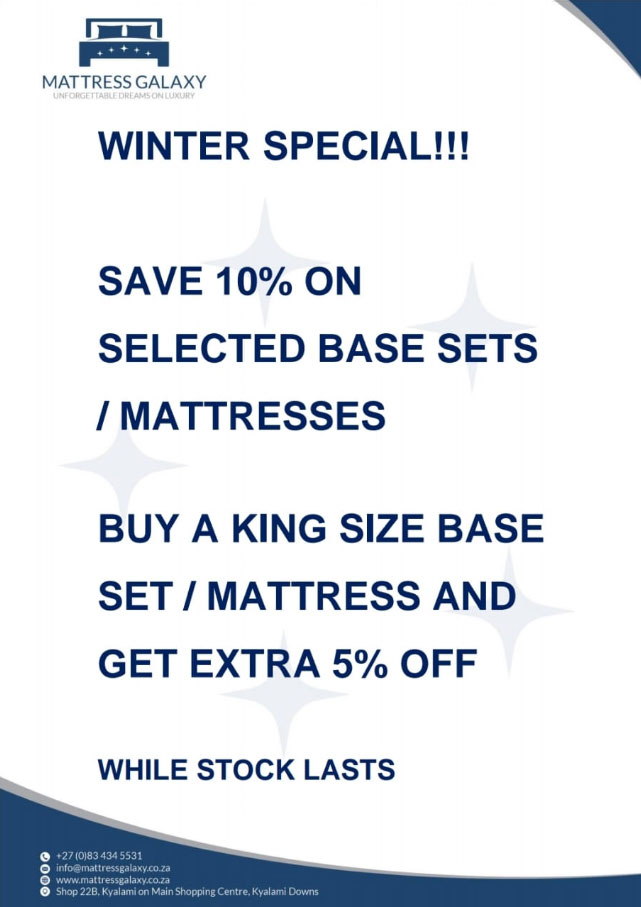 Mattress Galaxy – Winter Special