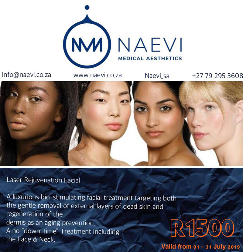 Naevi Medical Aesthetics – Laser Rejuvenation Facial